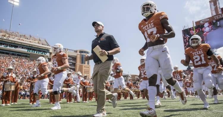 2018 Texas Longhorns Football Schedule Announced