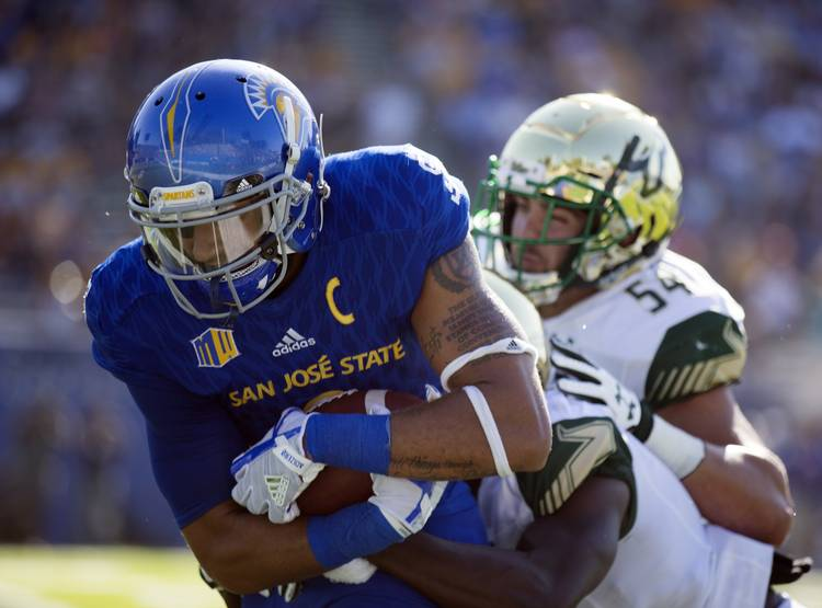 Top Opponents For Texas In 2017 No 90 San Jose State Wr